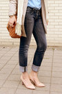 Beige-trench-h-m-coat-dark-gray-skinny-guess-jeans