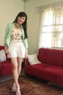 Mint-house-of-eva-blazer-white-lace-beehive-shorts