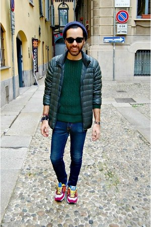 New Balance shoes - Uniqlo jacket - Ralph Lauren sweater - asos sunglasses