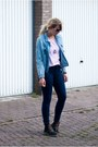 Mag-boots-persunmall-jeans-denim-abaday-jacket-thrifted-shirt