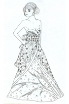 JAPANESE GOWN