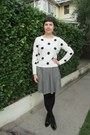Black-target-tights-white-forever-21-sweater-black-thrifted-vintage-skirt