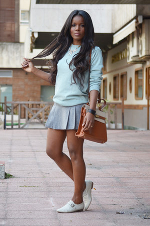 light blue Massimo Dutti sweater
