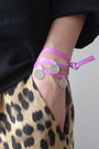 bubble gum 3 Wind Knots bracelet