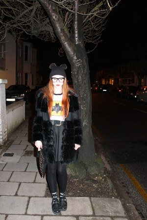 studded ear hat hat - sweatshirt - Topshop flats