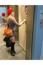 asos boots - Bershka skirt