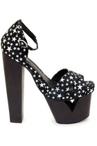 Jeffrey Campbell Palomar - Black (6,7,7.5)