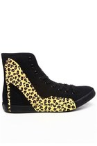 Y.R.U Limited Edition Heels - Black/Leopard