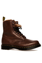Dr. Martens Serena in Dark Brown Polished Mirage