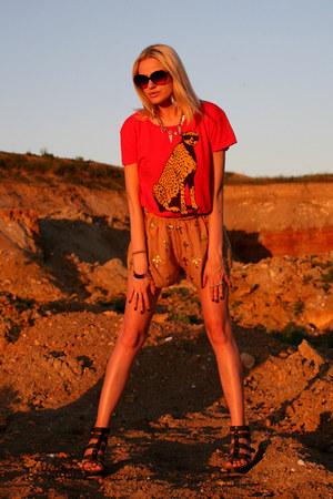 Wildfox shorts - Wildfox t-shirt