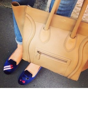 camel Celine bag