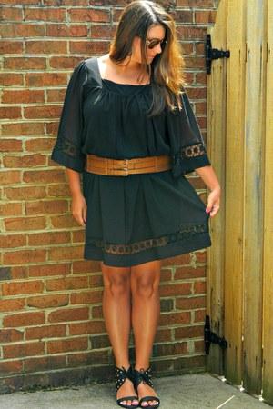 black Local store dress - tawny New York and Company belt