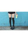 Light-orange-shorts-that-glamour-shorts-mustard-society6-top