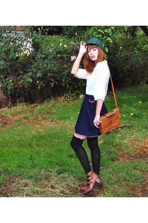 skirt Dear Creatures skirt - boots Topshop boots