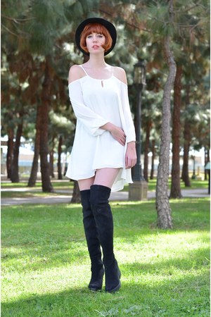 Miista boots - dress Lovers and Friends dress - my blog My Blog accessories