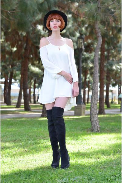 Miista boots - dress Lovers and Friends dress - my blog My Blog accessories