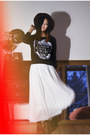 White-chicwish-dress-gray-the-orphans-arms-sweater