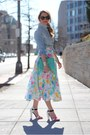 Aquamarine-asos-bag-light-blue-gap-blouse-bubble-gum-vintage-skirt