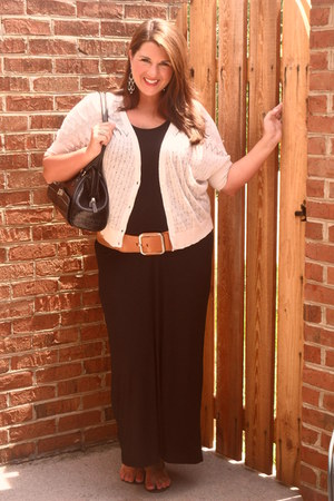 Old Navy dress - Ann Taylor Loft cardigan - Burlington coat factory belt - cutes
