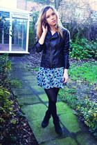 Miss Selfridge jacket - next shoes - H&M skirt