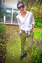 Zara pants - Primark shoes - Bfs shirt