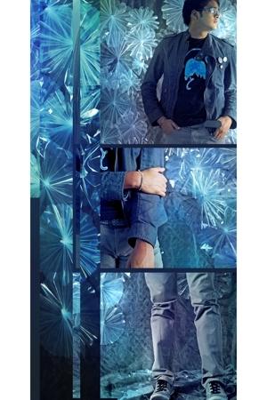 Bershka jacket - ARTANTONI shirt - forever 21 pants - Bershka shoes - Zara belt