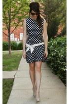 vintage dress - Guess heels