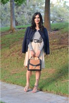 Valentino jacket - Sole Society bag - Prada skirt - StyleMint top