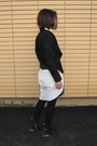Black-margiela-x-h-m-boots-black-wool-biker-jean-pierre-braganza-jacket