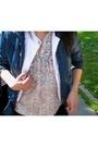 Blue-bershka-jacket-white-zara-coat-black-zara-jeans-beige-mango-shirt
