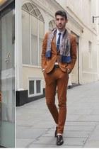 bronze suit