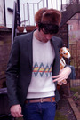 Topman-blazer-vintage-sweater-newlook-boots-april-77-jeans-hat