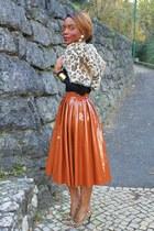 tawny H&M skirt - black Primark top - black Aldo heels