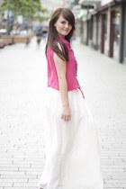 River Island blouse - River Island skirt