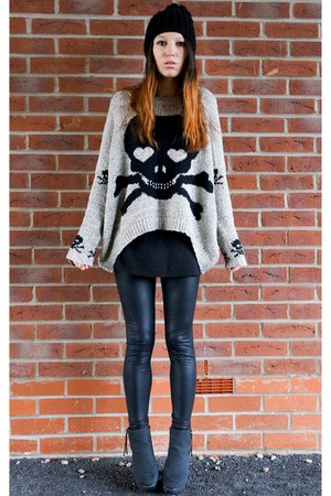 Sheinsidecom sweater - Primark leggings