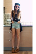 sammydress boots - H&M dress - chicnovacom shorts