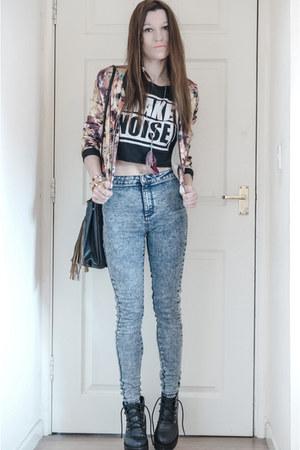 Primark jeans - Sheinsidecom jacket