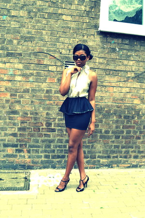 American Apparel skirt - Topshop top