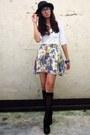 Off-white-forever-21-top-white-poisonberry-skirt-black-random-stockings-bl