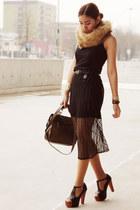 black transparent matilda clothing dress