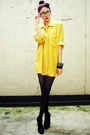 Mustard-vintage-blouse-black-forever-21-tights-black-figlia-shoes