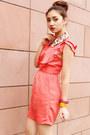 Bubble-gum-collar-bedazzle-accessories-accessories-coral-topshop-dress