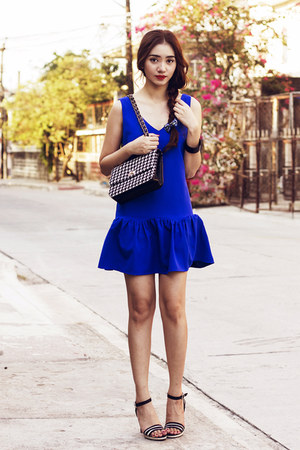 blue lookbookstore dress