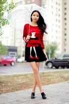 red BangGood suit