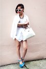 White-skort-zara-shorts-white-forever-21-sunglasses-white-h-m-t-shirt