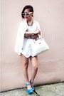 White-skort-zara-shorts-white-forever-21-sunglasses-white-h-m-t-shirt