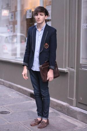 Zara boots - Ralph Lauren blazer