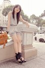 Black-forever21-shoes-gray-satin-shorts-gray-loose-tank-top
