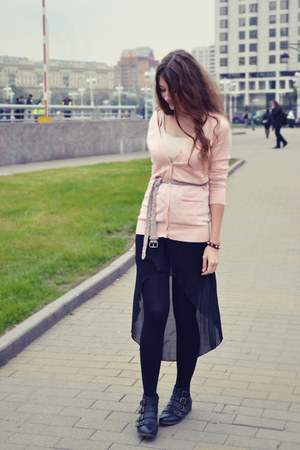 light pink VANCL cardigan