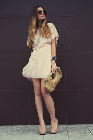 neutral Newlook dress